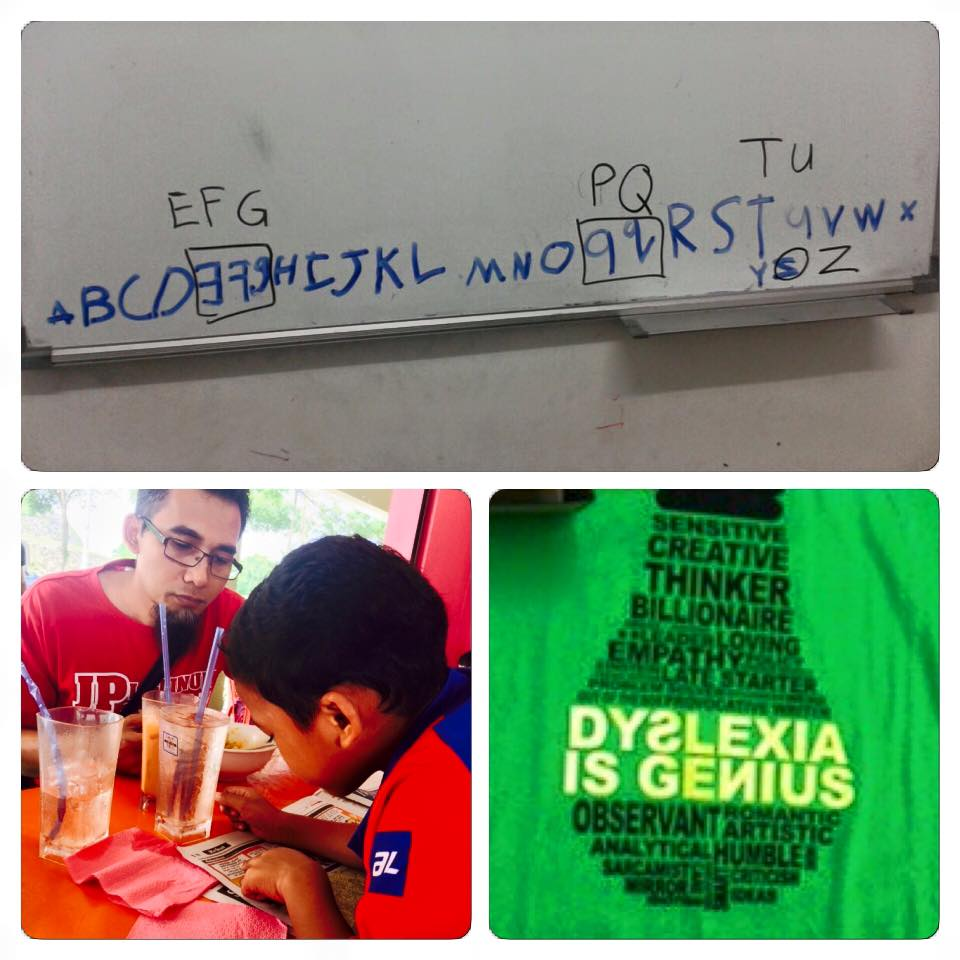 ajar anak disleksia