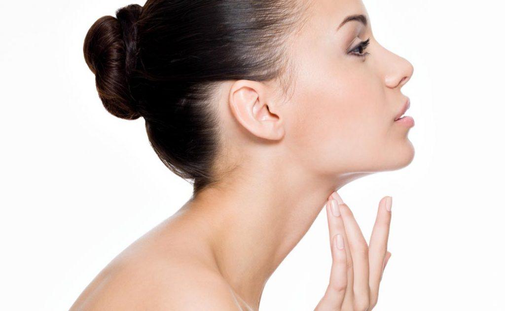 cara hilangkan double chin