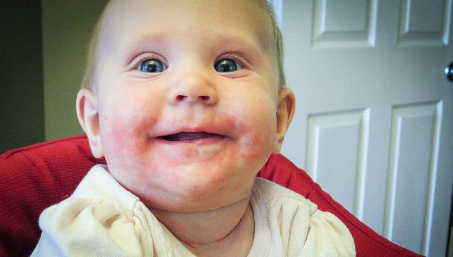 tanda bayi tumbuh gigi