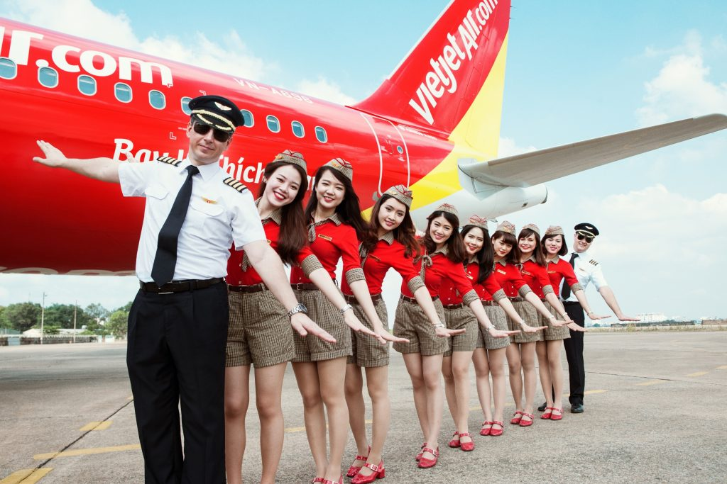 Vietjet's young and dynamic crew _ 1