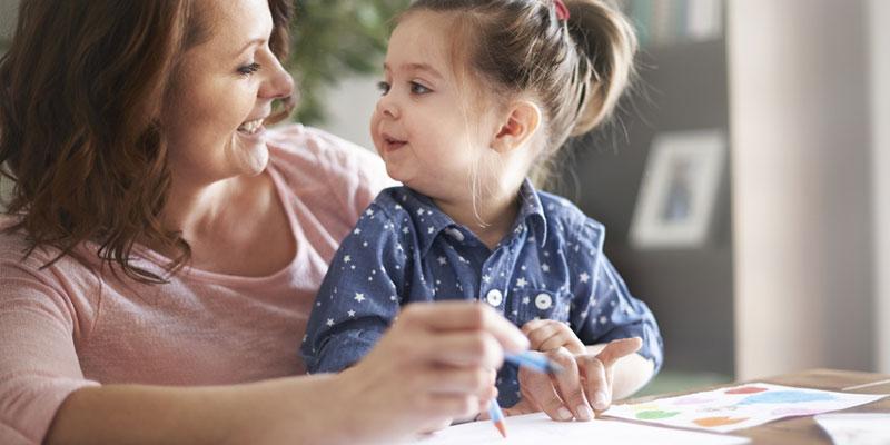 cara ajar anak bercakap