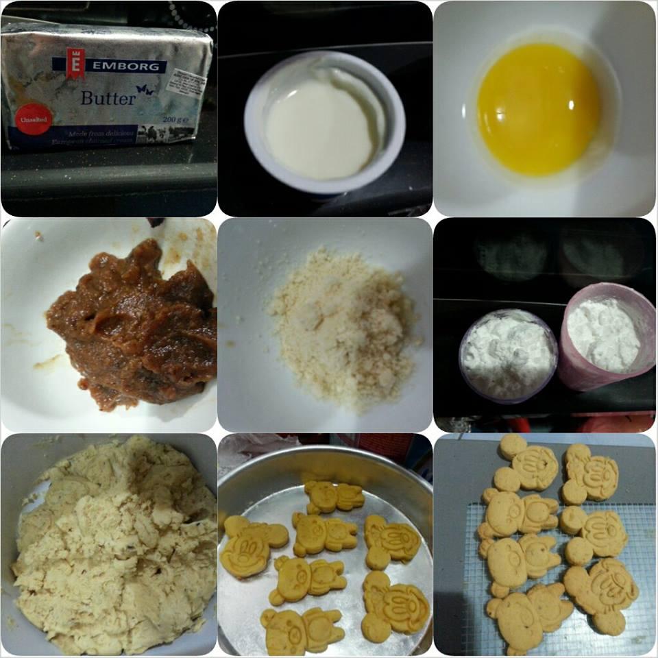 cara buat biskut anak