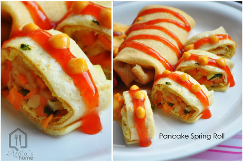 pancake spring roll