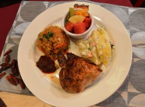 Sambalicious Chicken Meal
