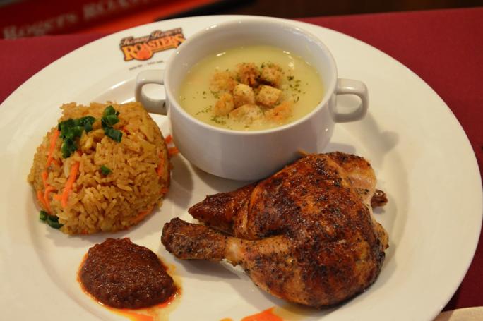 Sambalicious Chicken Meal