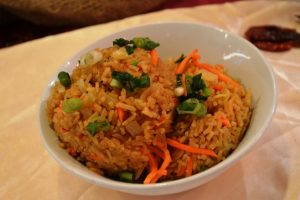 Spicy Golden Rice