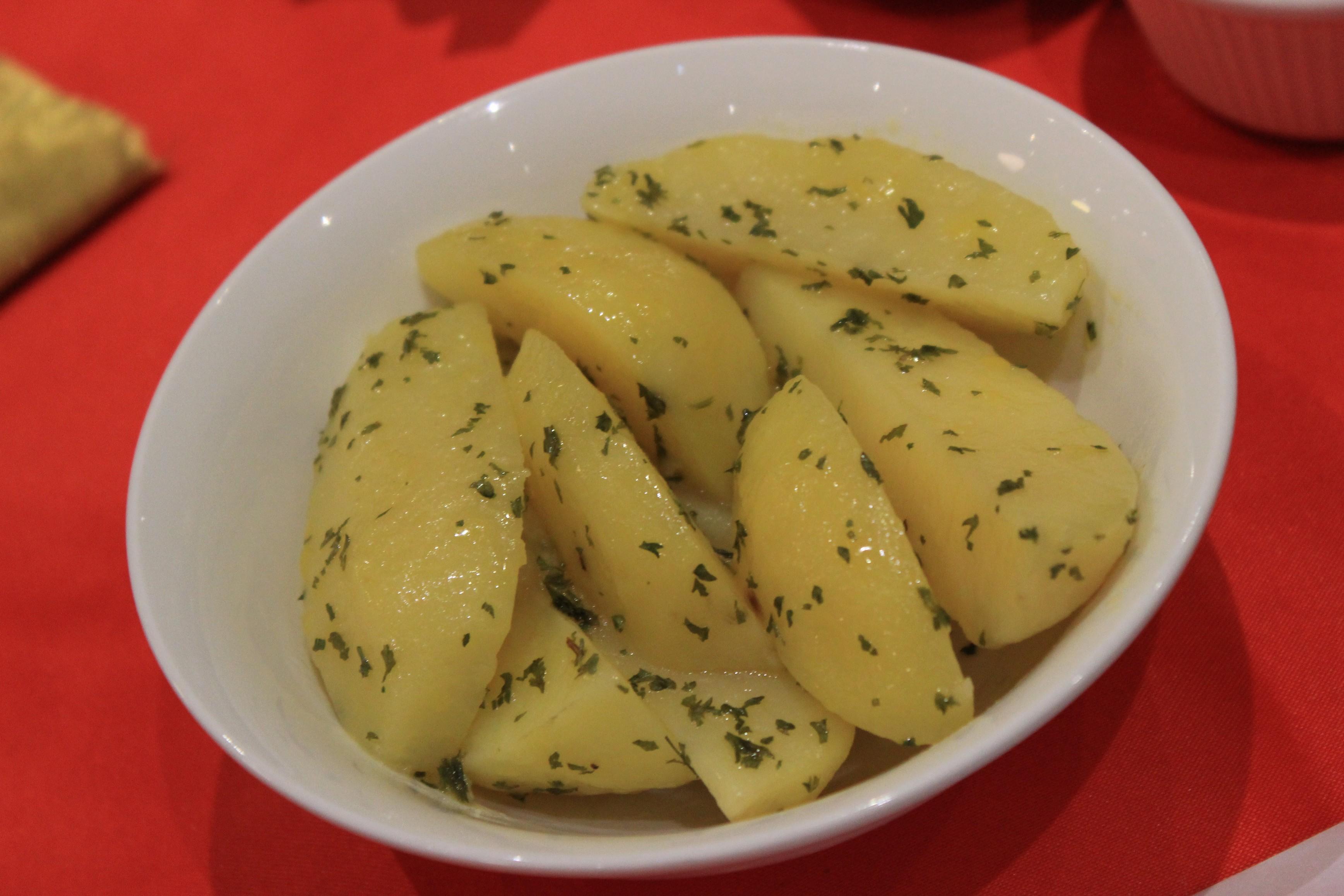 Garlic Parsley Potato