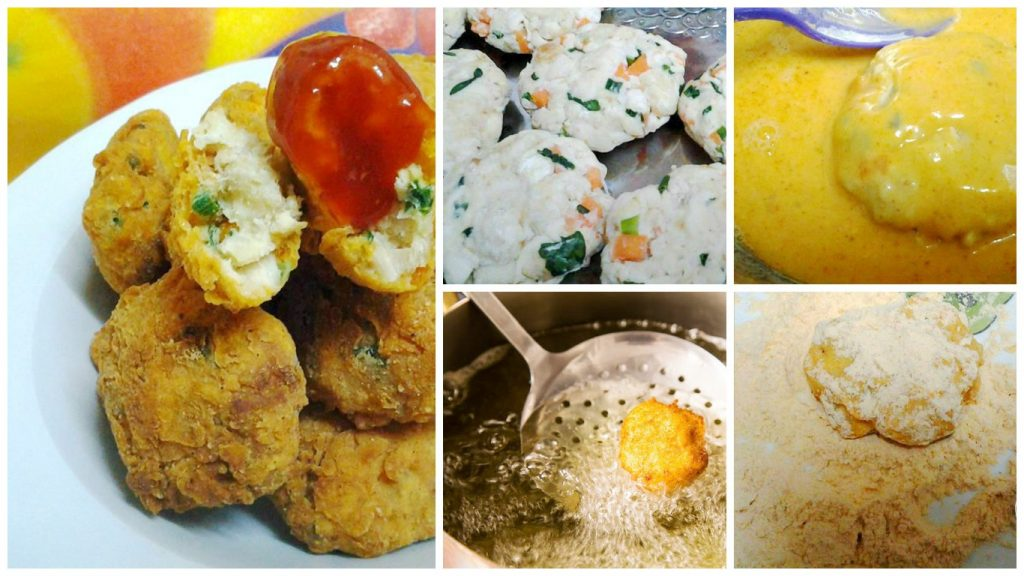 resepi nugget ayam tempura