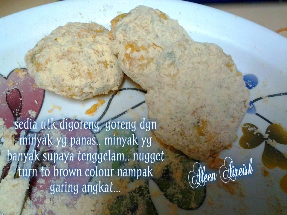 resepi nugget ayam