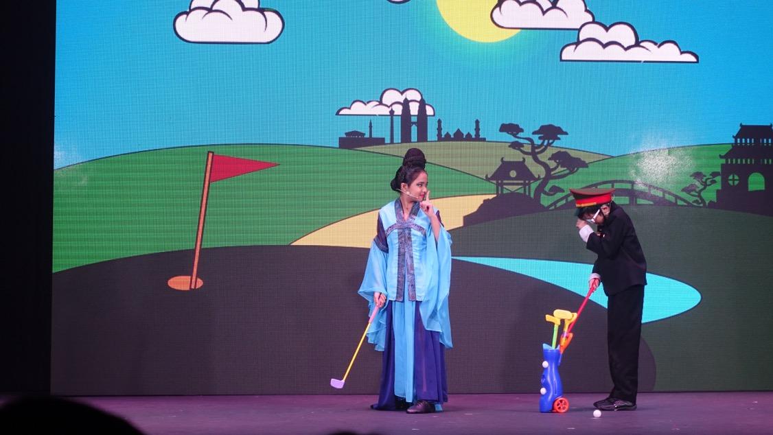 Pelakon kanan-kanak yang turut terlibat menjayakan Teater Aladdin Reloaded - A Musical Comedy