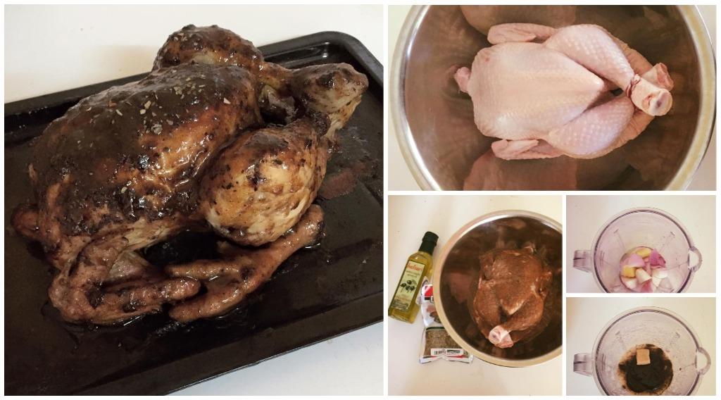 Cara Buat Ayam Panggang Ala Kenny Rogers Simple Tapi Sedap