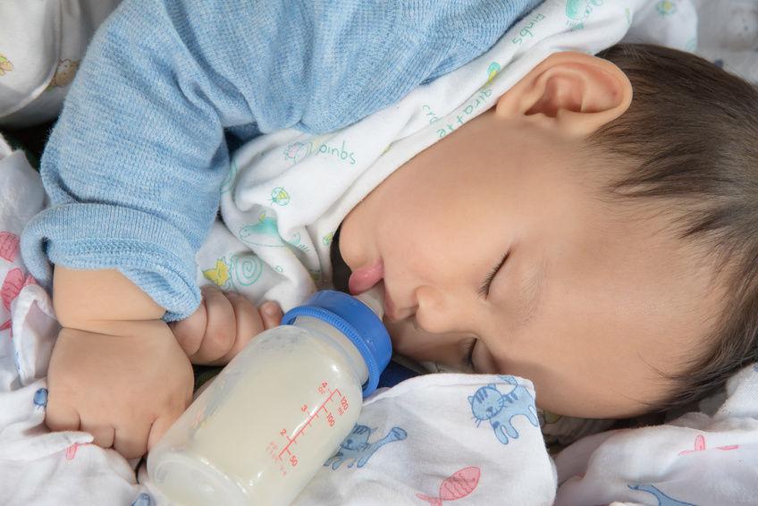 ajar anak minum susu