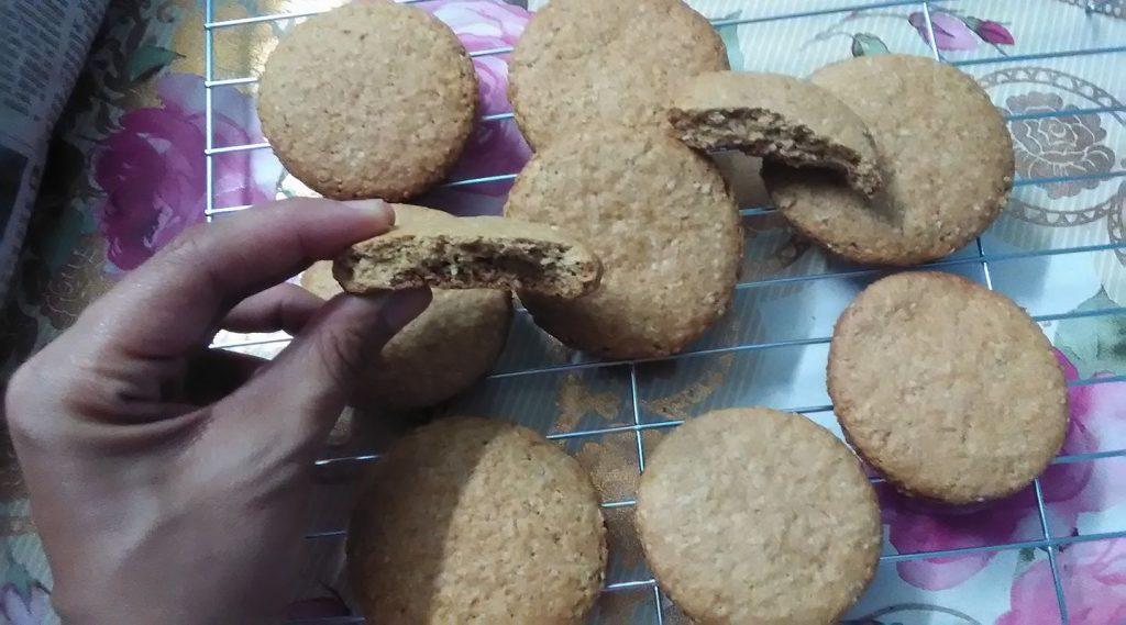 cara-buat-biskut-oat-10