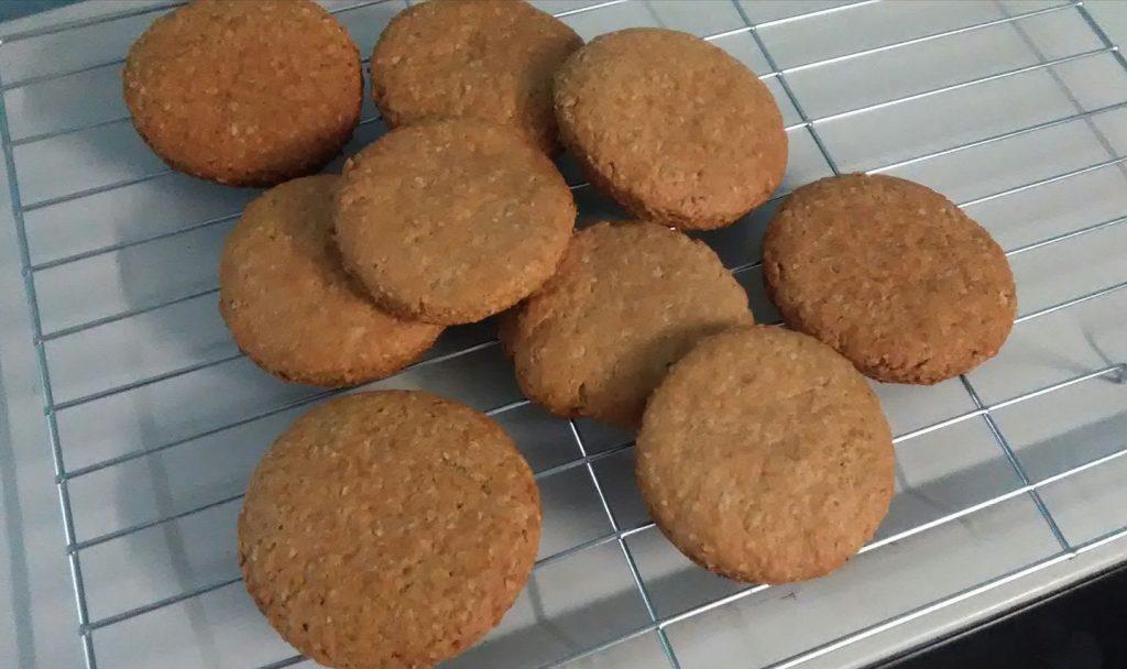 cara-buat-biskut-oat