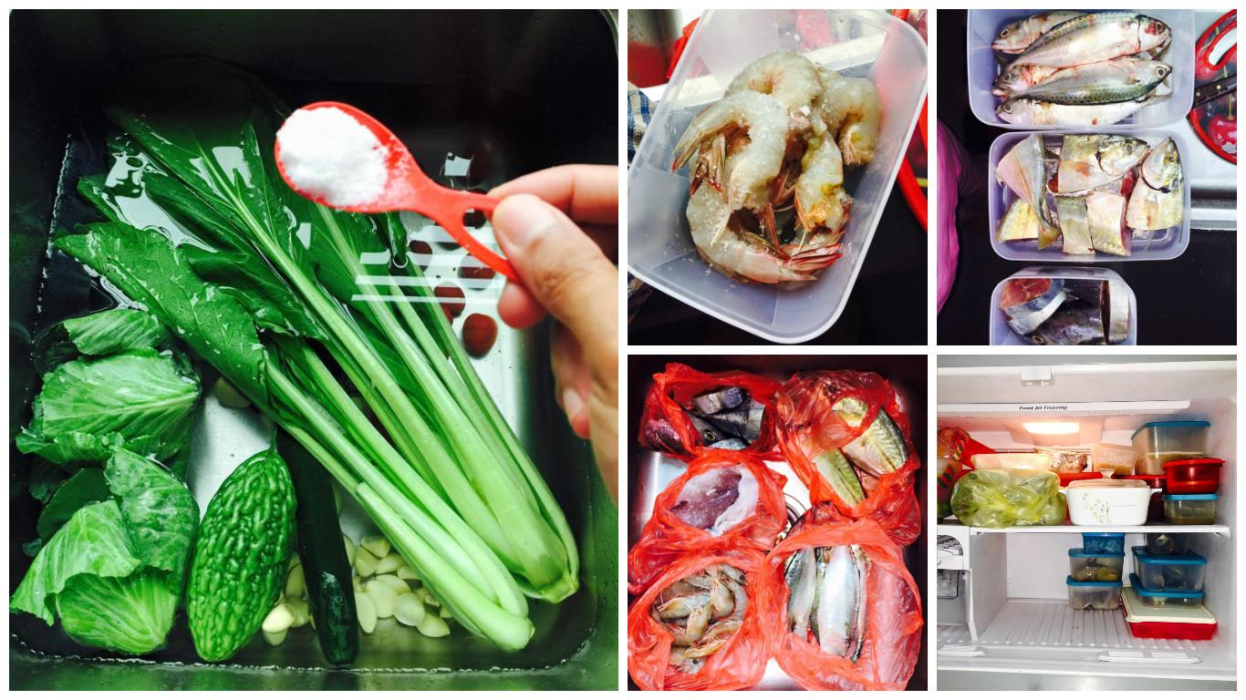 cara menyimpan sayur