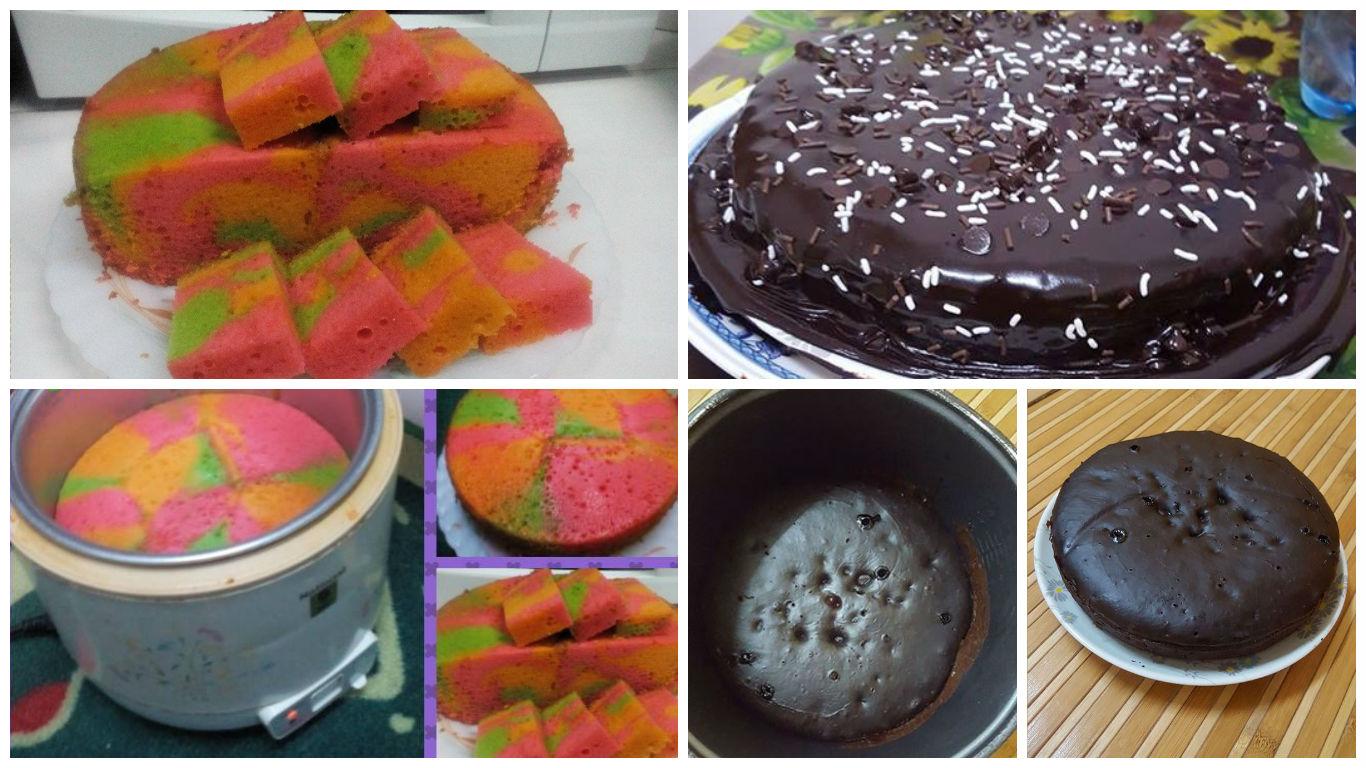 resepi kek mudah guna rice cooker tetap lazat  gebu Resepi Kek Guna Gelatin Enak dan Mudah