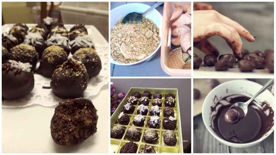 resepi coklat ball
