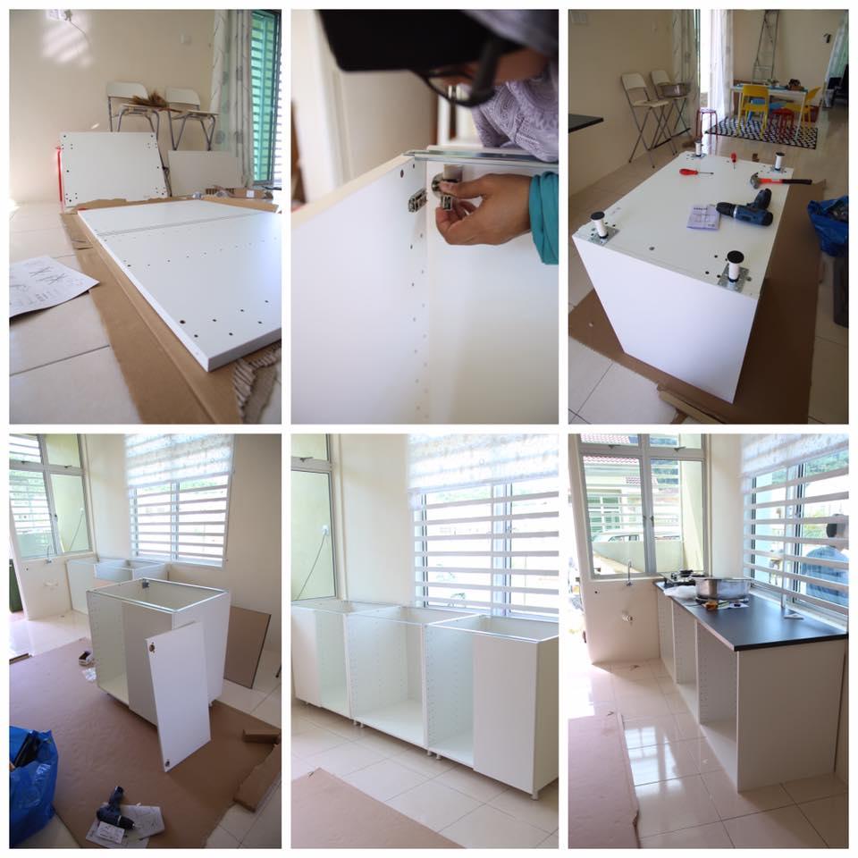 Baru Pindah Rumah Tapi Nak Dapur Tu Nampak Cantik Dan Ada Kabinet Alamak Mahal La Harga Upah Orang Suruh Buat Ni