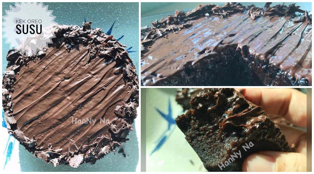 Resepi Kek Coklat Ini Cuma Guna 2 Bahan Paling Senang Tapi