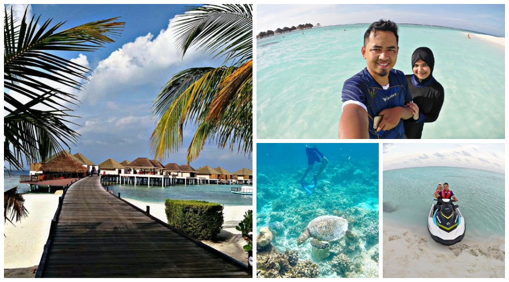 tips bercuti di maldives