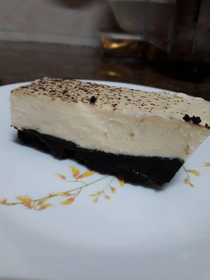 Mudahnya Buat Kek Oreo Cheese Tak Perlu Oven Pun