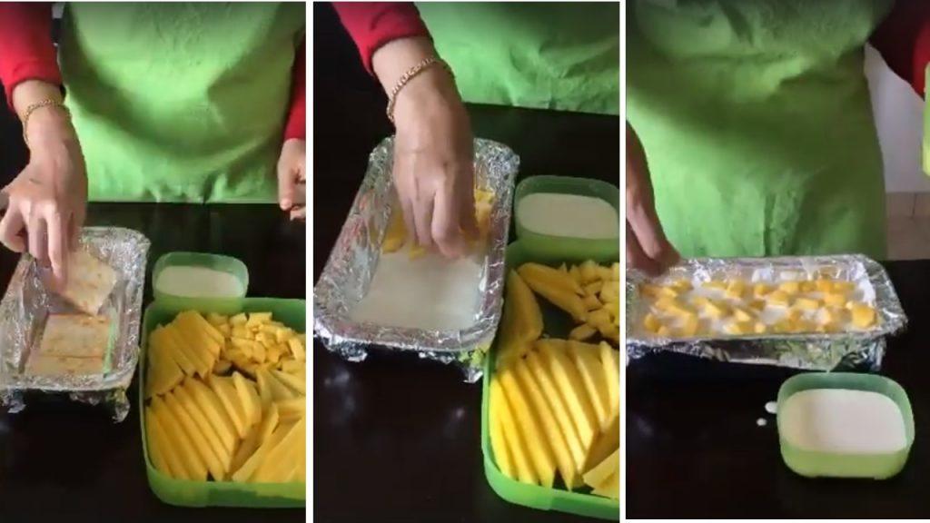 Resepi Mango Float Dessert Yang Sedap Semudah Kek Batik Sahaja
