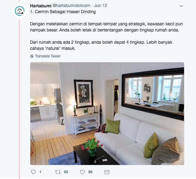 Tips Deko Rumah Apartment Atau Flat Untuk Kelihatan Lebih