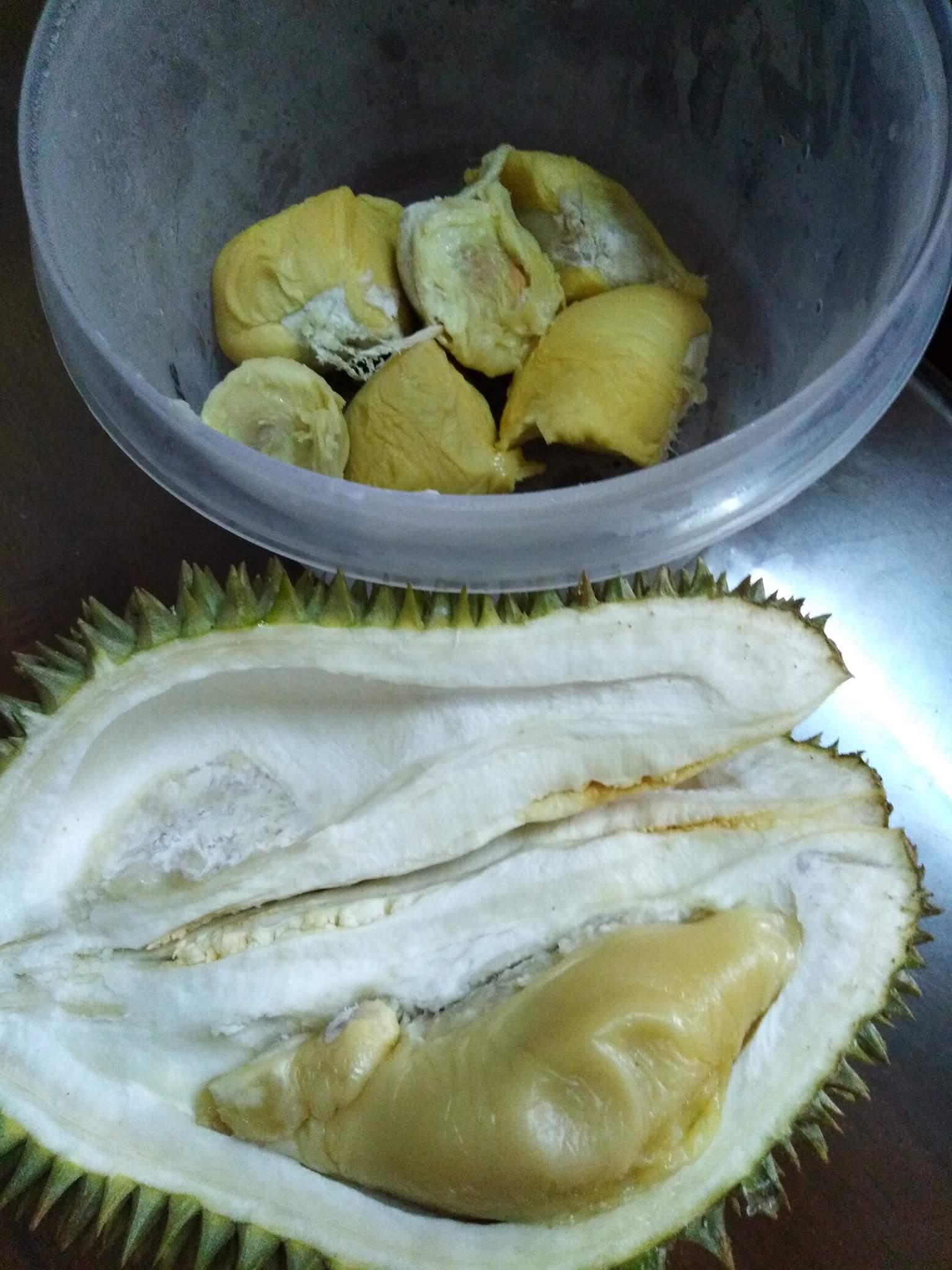resepi pengat durian