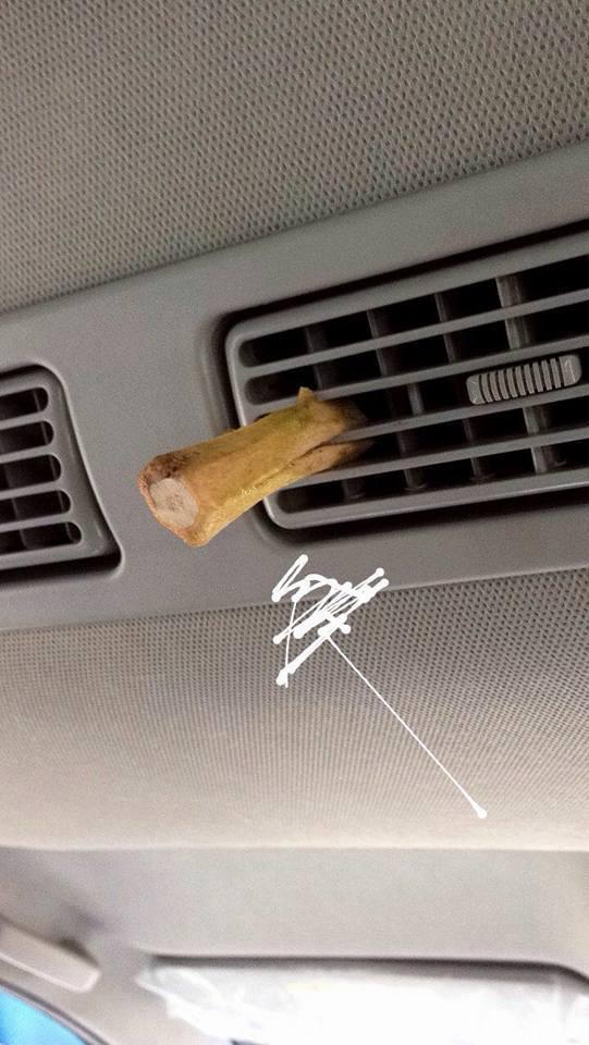 cara hilangkan bau durian