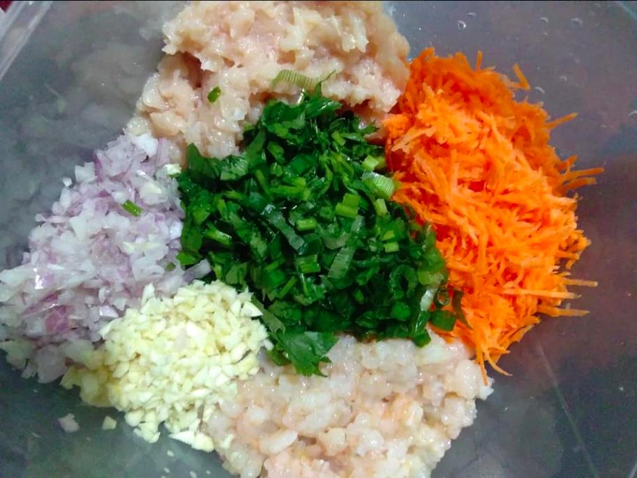Cara Buat Dumpling Inti Udang Ayam Di Rumah Confirm Licin