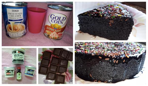 Terliurnya Tengok Resipi Kek Coklat Leleh Ni Anak Mesti Suka