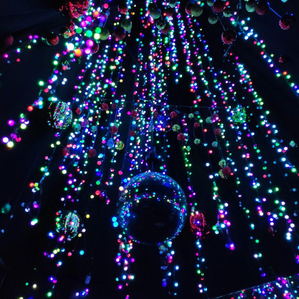 lampu sempena krismas di quill city mall