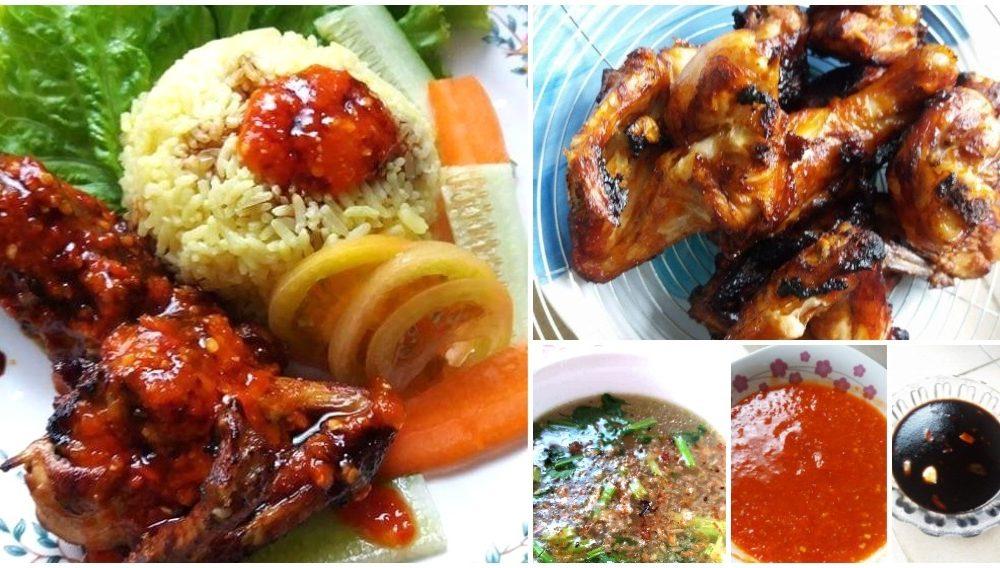 Resepi Nasi Ayam Simple Tapi Power. Ayam Goreng Cantik Berkilat!