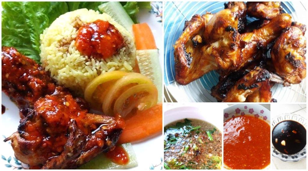 Resepi Nasi Ayam Simple Tapi Power Ayam Goreng Cantik Berkilat