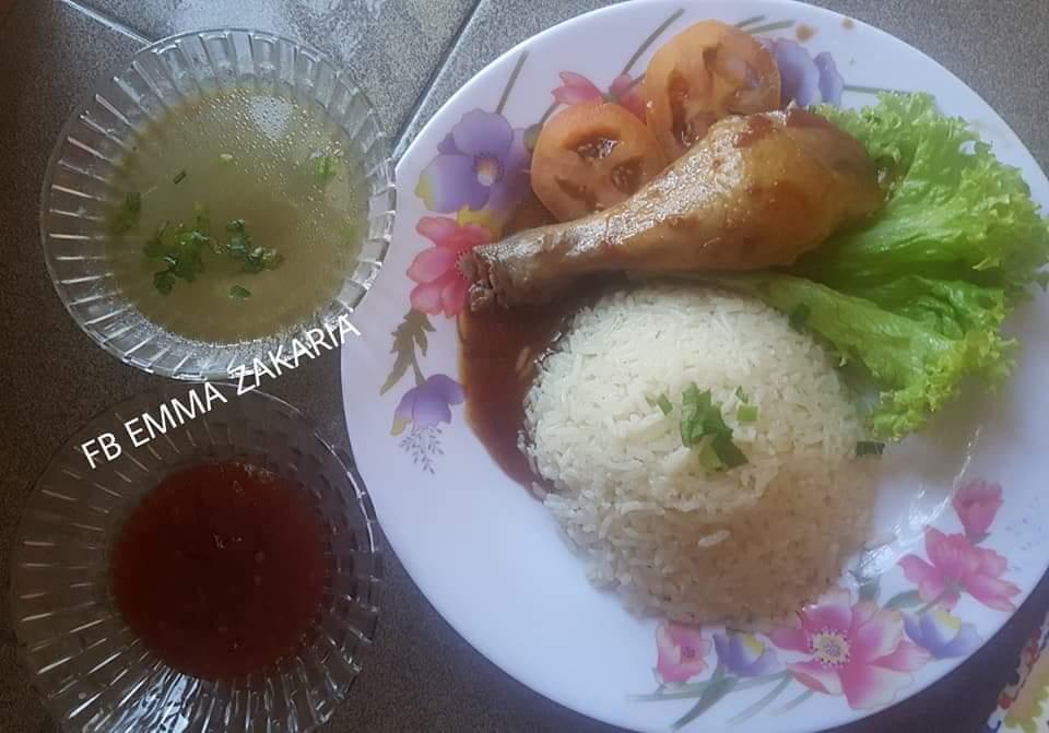 resepi nasi ayam thai
