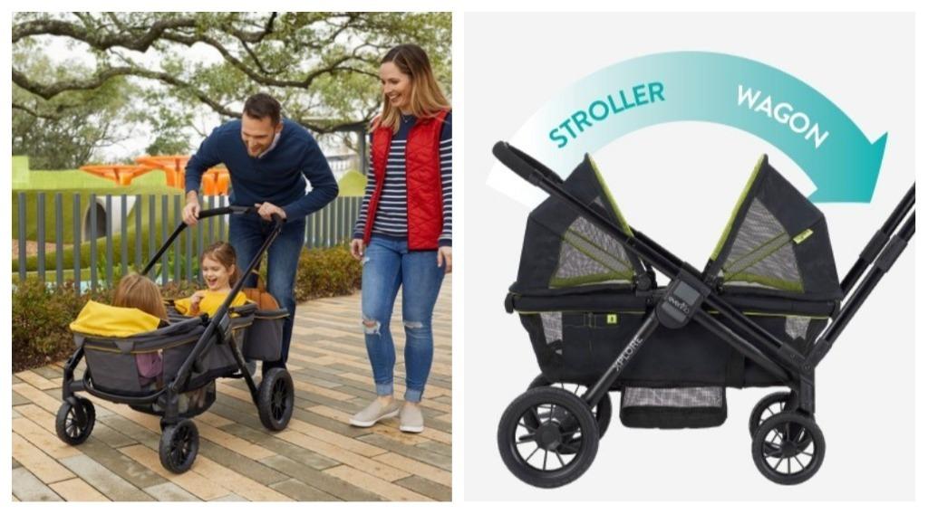 Stroller Terbaru 2 In 1 Ini Boleh Bertukar Jadi Wagon