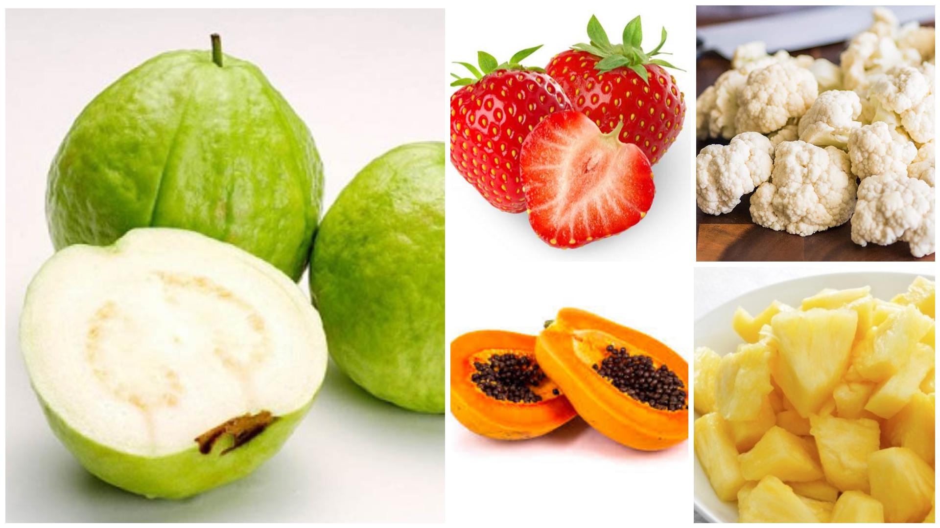 9 Jenis Buah Sayur Yang Lebih Tinggi Vitamin C Berbanding Oren