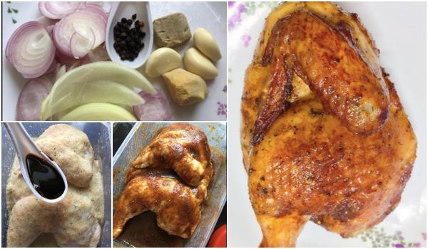 Semudah Abc Ini Resipi Ayam Panggang Paling Simple Ala Ala Di