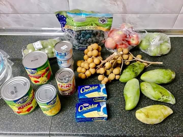 Resepi salad buah
