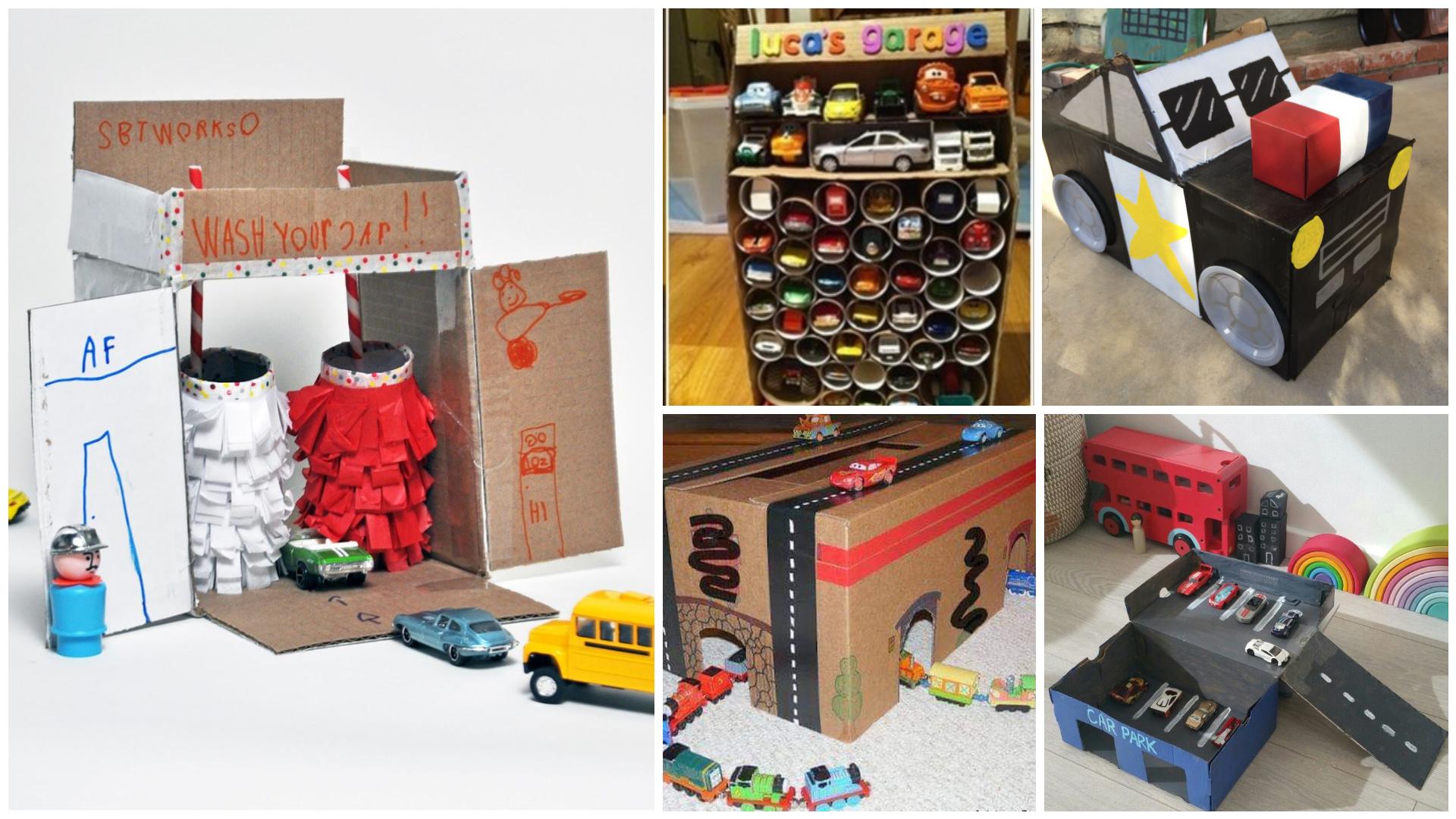 8 Idea Diy Mainan Kereta Daripada Kotak Anak Lelaki Mesti Suka