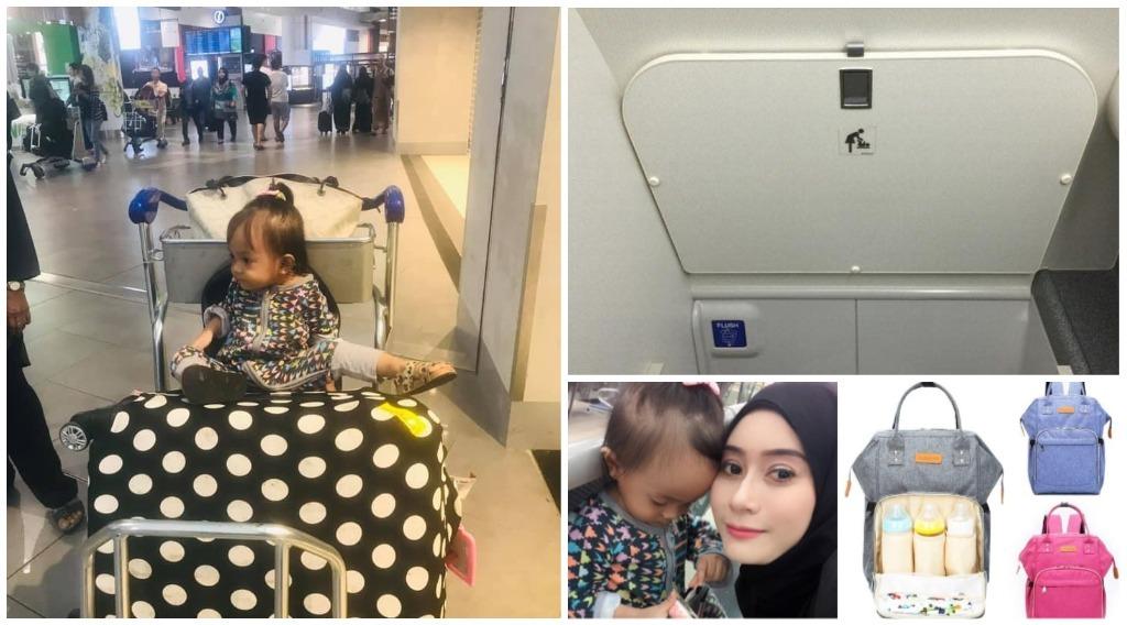 tips bawa anak kecil naik flight