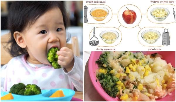 Jangan Tunggu Gigi Tumbuh Barulah Nak Ubah Tesktur Makanan Bayi